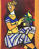 When I begin to paint hold the sky in your hand as the stretch of my canvas is unknown to me - M F Husain - From Classical to Contemporary