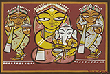 Untitled - Jamini  Roy - From Classical to Contemporary