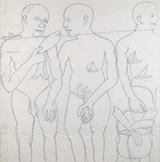 Untitled - Bhupen  Khakhar - Evening Sale | Live Auction, Mumbai