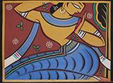 Untitled - Jamini  Roy - Evening Sale | Live Auction, Mumbai