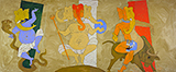 Untitled - M F Husain - Evening Sale | Mumbai, Live