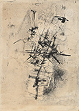 Untitled - Nasreen  Mohamedi - Evening Sale | Mumbai, Live