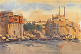 Untitled (Benares) - S H Raza - Evening Sale | Mumbai, Live