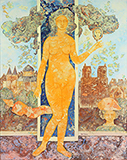 Le Miroir du Temps (Mirror of   Time) - Sakti  Burman - Evening Sale | Mumbai, Live