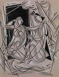 Untitled - George  Keyt - Evening Sale | New Delhi, Live