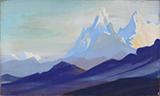 Himalayas - Nicholas  Roerich - Evening Sale | New Delhi, Live