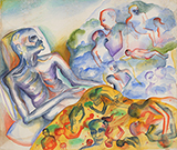 His Last Days of Aids - He Remembered His Friends - Bhupen  Khakhar - Summer Online Auction
