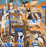 Panorama - K G Subramanyan - Summer Online Auction