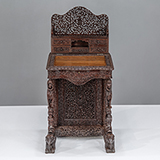 CARVED DAVENPORT DESK -    - The Design Sale