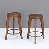 STOOL WITH CIRCULAR BASE -    - The Design Sale