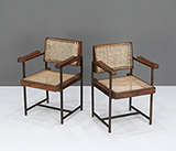 CHAIR WITH METAL FRAME -    - The Design Sale