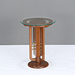 ART DECO PEG TABLE - The Design Sale