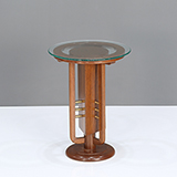 ART DECO PEG TABLE -    - The Design Sale