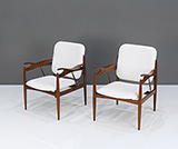 FINN JUHL-STYLE OCCASIONAL CHAIR -    - The Design Sale