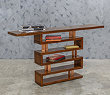 ART DECO WHATNOT CONSOLE TABLE -    - The Design Sale