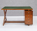 X DESK WITH FOUR DRAWERS -    - The Design Sale