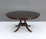 STICKLEY CIRCULAR DINING TABLE -    - The Design Sale