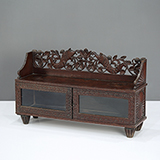 CARVED LOW CONSOLE TABLE -    - The Design Sale