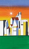 Cityscape - F N Souza - Summer Online Auction