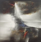Untitled (Thunderstorm) - Laxman  Shrestha - Summer Online Auction