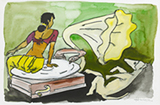Untitled - M F Husain - Summer Online Auction