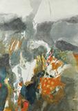 Paysage d'hiver - S H Raza - Summer Online Auction