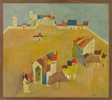 Paysage Provencal - I (Cagnes) - S H Raza - Summer Online Auction