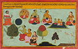 FOLIO FROM BHAKTI RATNAVALI SERIES -    - Classical Indian Art