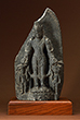 VISHNU WITH PERSONIFIED ATTRIBUTES, CHAKRAPURUSHA AND GADADEVI - Classical Indian Art