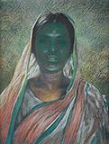 Untitled - Bikash  Bhattacharjee - Modern Indian Art