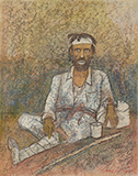 Untitled - Ganesh  Pyne - Modern Indian Art