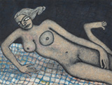 Untitled - Jogen  Chowdhury - Modern Indian Art