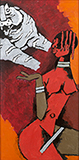 Untitled - M F Husain - Modern Indian Art