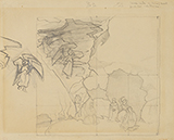 Sketch for Sons of Heaven - Nicholas  Roerich - Modern Indian Art