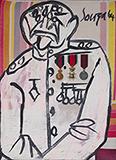 Untitled - F N Souza - Modern Indian Art