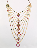 SEVEN STRAND PEARL NECKLACE -    - Fine Jewels: From Tradition to Innovation