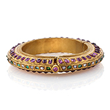 PERIOD GEMSET `KADA` OR BANGLE -    - Fine Jewels: From Tradition to Innovation