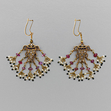 PAIR OF RUBY AND DIAMOND `JADAU` EARRINGS -    - Fine Jewels: From Tradition to Innovation