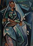 Untitled - Ghulam Rasool Santosh - Evening Sale | Live Auction, Mumbai