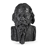 Rabindranath Tagore - Sir Jacob  Epstein - Evening Sale | Live Auction, Mumbai