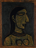 Untitled (Head of a Woman) - Akbar  Padamsee - Evening Sale | New Delhi, Live