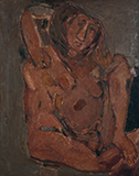 Untitled (Figure of a Woman) - Tyeb  Mehta - Evening Sale | New Delhi, Live