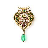 GEMSET BIRD PENDANT -    - Fine Jewels: Ode to Nature