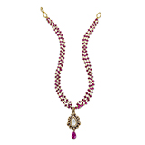 RUBY AND DIAMOND NECKLACE -    - Fine Jewels: Ode to Nature