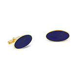 LAPIS LAZULI CUFFLINKS -    - Fine Jewels: Ode to Nature