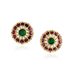 PAIR OF GEMSET KARNPHOOL EARRINGS - Fine Jewels: Ode to Nature
