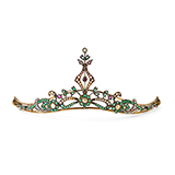 GEMSET TIARA -    - Fine Jewels: Ode to Nature