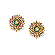 GEMSET KARNPHOOL EARRINGS - Fine Jewels: Ode to Nature
