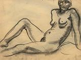 Female Nude - Amrita  Sher-Gil - Art Rises for Kerala Live Fundraiser Auction