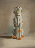 Dog - Shibu  Natesan - Art Rises for Kerala Live Fundraiser Auction